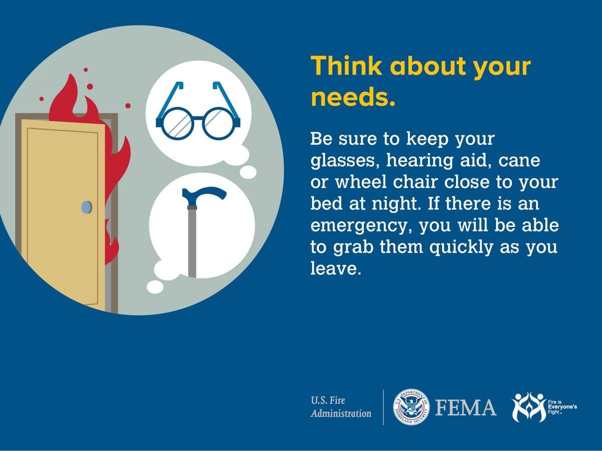 Think about your needs before an Emergency