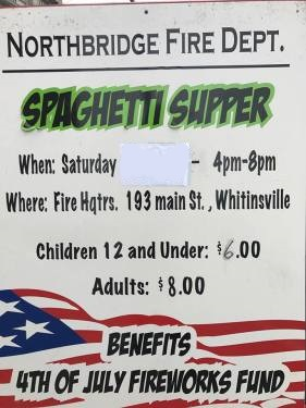 NFD Pasta Supper