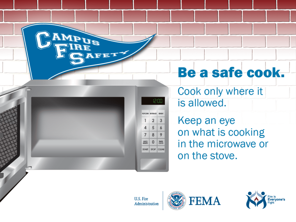 Be a safe cook