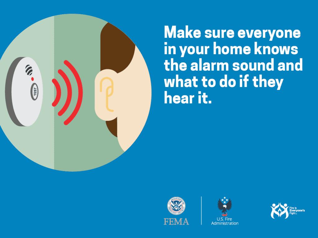 know your smoke alarm sound