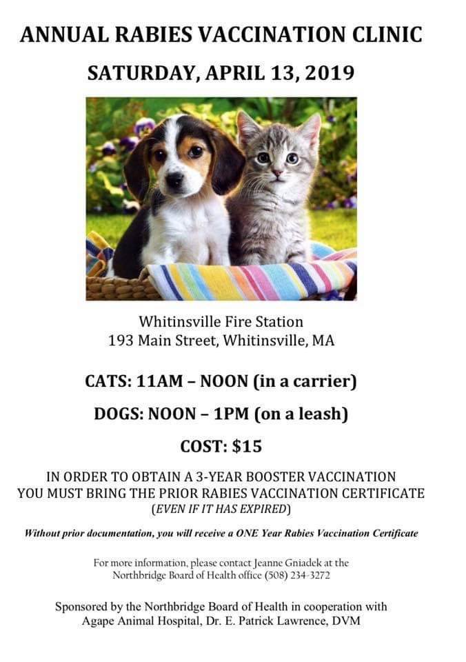 Annual Rabies Vaccination Clinic