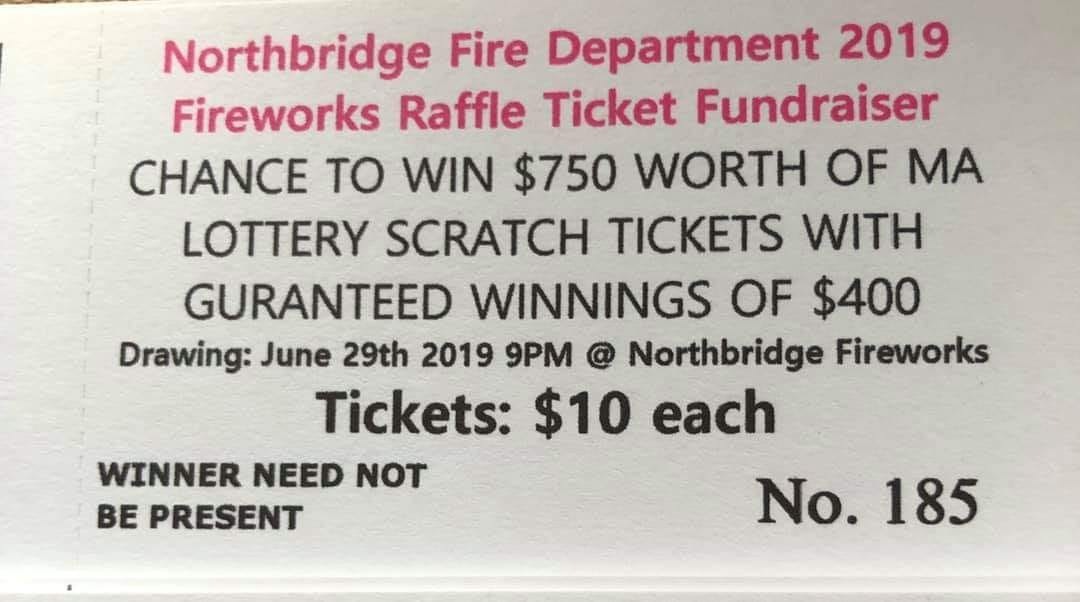 2019 Raffle to Support 4th of July Fireworks