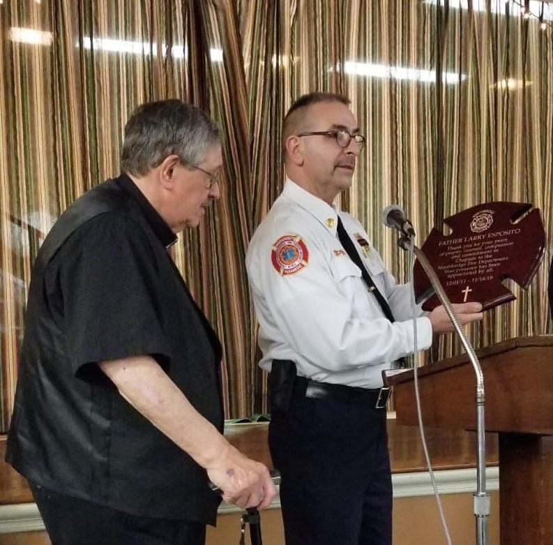 Read more about the article Father Larry Esposito receives award for his service