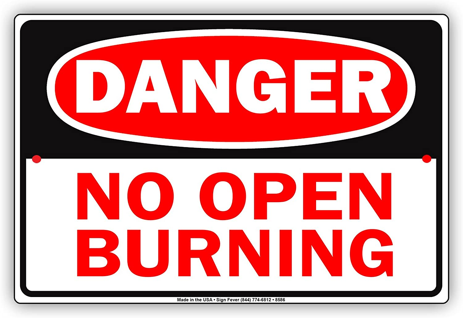 No Open Burning Today 4-5-2021