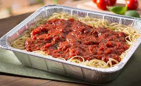 Family Size Spaghetti with Meatballs Dinner for Four